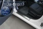 Alufrost Накладки на пороги Hyundai Elantra MD 2011-