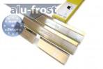 Alufrost Накладки на пороги Kia Picanto 2004-2010