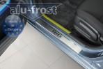 Alufrost Накладки на пороги Kia Rio 2011-
