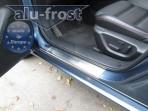 Alufrost Накладки на пороги Mazda 6 Sedan 2013-