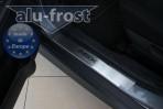 Alufrost Накладки на пороги Mitsubishi ASX 2011-