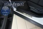 Alufrost Накладки на пороги Mitsubishi Outlander 2012-