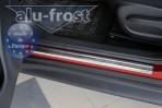 Alufrost Накладки на пороги Nissan Juke 2010-