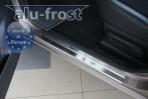 Alufrost Накладки на пороги Nissan Note 2006-
