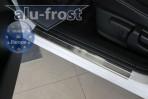 Alufrost Накладки на пороги Nissan Qashqai 2007-