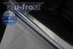 Alufrost Накладки на пороги Opel Insignia 2008-