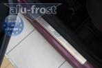 Alufrost Накладки на пороги Peugeot 107 2005- 5 дверей