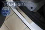 Накладки на пороги Peugeot 3008 2010-