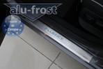 Alufrost Накладки на пороги Renault Fluence 2010-