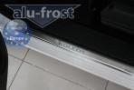 Alufrost Накладки на пороги Renault Koleos 2008-