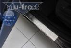 Alufrost Накладки на пороги Renault Scenic 2009-