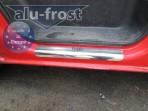 Alufrost Накладки на пороги Renault Trafic II 2002-