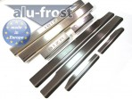 Alufrost Накладки на пороги Seat Ibiza 2006-2012 5 дверей