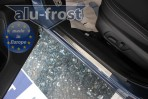 Alufrost Накладки на пороги Subaru Forester IV 2013-