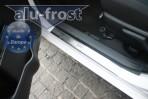 Alufrost Накладки на пороги Toyota Yaris 2011- 5 дверей