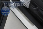 Alufrost Накладки на пороги Volkswagen Golf Plus 2009-