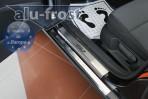 Накладки на пороги Volkswagen Golf VII 2013- 5 дверей