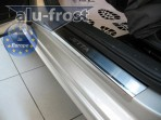 Alufrost Накладки на пороги Volkswagen Jetta 2011-