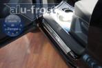 Накладки на пороги Volkswagen Tiguan 2007-