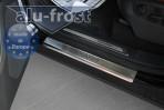 Alufrost Накладки на пороги Volkswagen Touareg 2010-