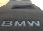 Коврики в салон текстильные для BMW 1 (E87) 2004-2012 черные ML Lux