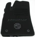 Текстильные коврики в салон для MG 350 2012- черные ML Lux 4 клипсы