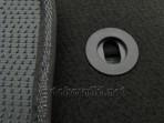 Коврики в салон текстильные для MG 350 2012- черные ML Lux 4 кли