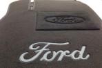 Купить текстильные коврики в салон Форд Фокус 2 2004- черные Люк