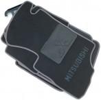CMM Коврики в салон текстильные для Mitsubishi Outlander 2003-2007 АКПП серые ML Lux