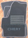 Коврики в салон текстильные для Chery Kimo (A1) 2006- серые ML Lux