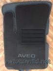 CMM Коврики в салон текстильные для Chevrolet Aveo 2003-2012 черные ML Lux