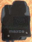 Коврики в салон текстильные для Mazda CX-5 2012- черные ML Lux