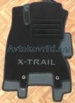 Коврики в салон текстильные для Nissan X-Trail (T31) 2007- черные ML Lux