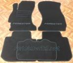Текстильные коврики в салон для Subaru Forester 4 2013- черные ML Lux