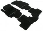 CMM Коврики в салон текстильные для Chevrolet Orlando 2011- (5 мест) черные ML Lux
