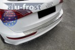 Накладка на бампер с загибом для Audi Q5 2008-