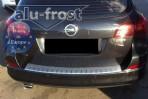 Alufrost Накладка на бампер с загибом для Opel Astra J Sports Tourer 2009-