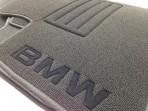 CMM Ворсовые коврики BMW 7 (E66) Long 2001-2008 черные Milan