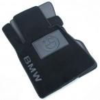 CMM Коврики в салон текстильные для BMW 7 (E65) 2001-2008 черные Elit