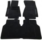 CMM Коврики в салон текстильные для BMW 7 (E66) Long 2001-2008 черные Elit