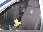 Автомобильные чехлы Volkswagen Polo Sedan 2010- цельная спинка
