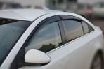 Дефлекторы окон для Chevrolet Cruze Sedan 2009-