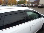 Дефлекторы окон для Ford Focus III Universal 2011-