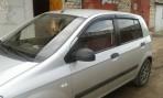 Дефлекторы окон для Hyundai Getz 2002-2011 (5 дверей)