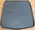 Резиновый коврик в багажник Audi A4 (B8) 2007-