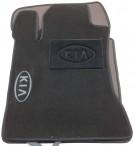 CMM Коврики в салон текстильные для Kia Magentis 2006-2010 черные ML Lux