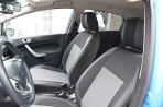 Чехлы из ЭКОкожи для Ford Fiesta 2012- серая строчка