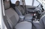 Чехлы из ЭКОкожи для Hyundai Tucson 2004-2010 серая строчка