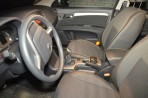 Чехлы из ЭКОкожи для MG 350 2012- серая строчка