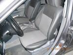 MW Brothers Чехлы из ЭКОкожи для Mazda 6 HB/SD 2002-2007 серая строчка